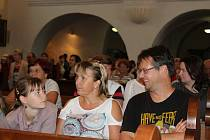 Kostel sv. Markéty ve Strakonicích byl při Noci kostelů plný lidí.