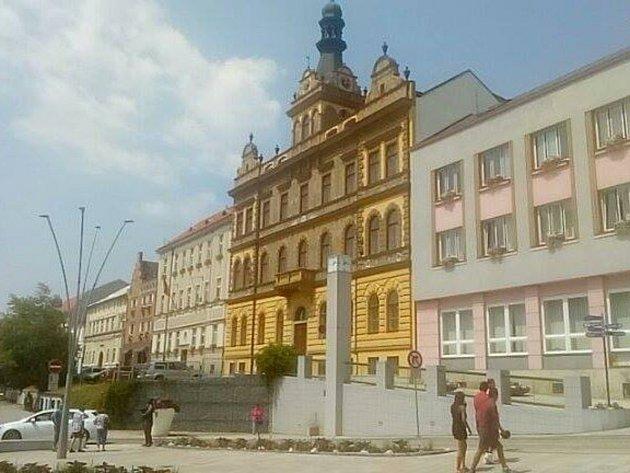 Strakonice, budova radnice. Ilustrační foto