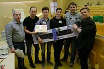 Tým VOŠ, SPŠ a SOŠ Strakonice získal třetí místo v kategorii družstev.