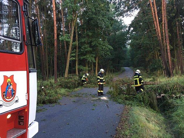 Netoličtí hasiči byli vterénu už od rána.