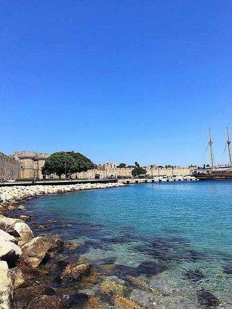 Rhodos - Řecko je zkrátka úchvatné, ráda bych ho ještě navštívila. Ostrov Rhodos je prozatím moje 1.