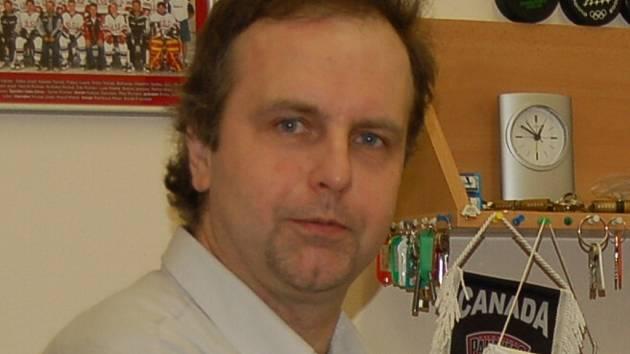 Předseda oddílu HC Strakonice Pavel Srb.