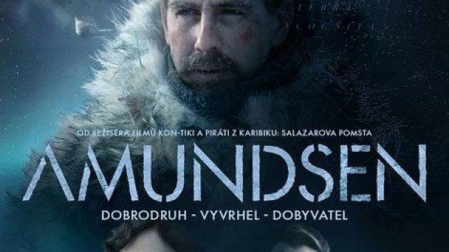 Amundsen přichází do kina v Blatné.