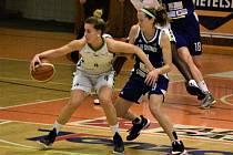 Basketbalové soutěže měly na programu další zápasy. Ilustrační foto