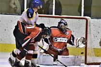 Strakoničtí hokejisté prohráli v Jindřichově Hradci a končí sezonu v semifinále play off.