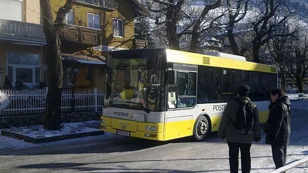 Speciální autobus určený do historických center měst