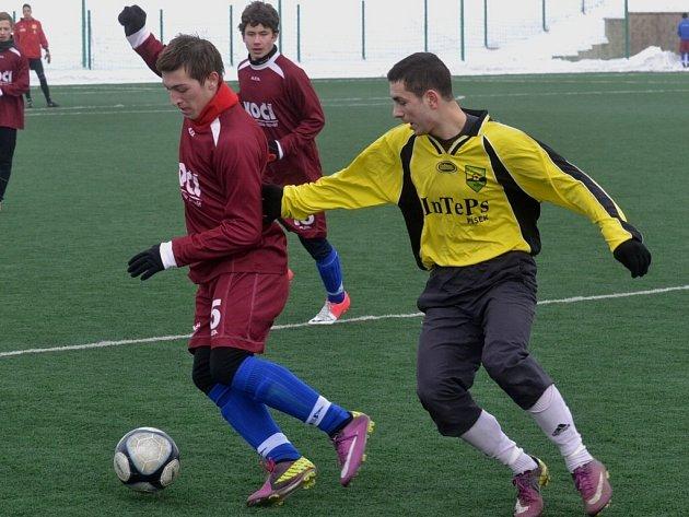 Osek porazil písecké mladíky 2:0.