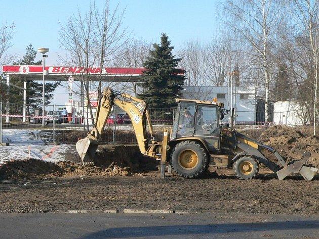 Přepadená benzinka na Katovické