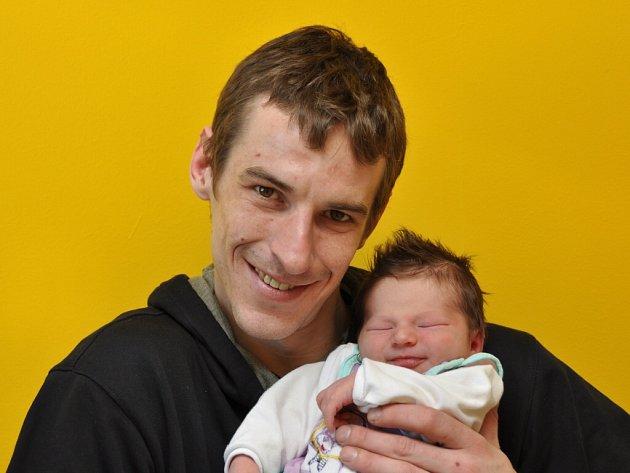 Tereza Sosnová, Dunovice, 19.3. 2016 v 10.13 hodin, 4030 g. Malá Tereza je prvorozená.
