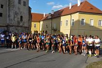 Běh městem Strakonice v roce 2018.
