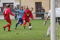 Strakonice doma prohrávaly s posledními Klatovy 0:1, ale během tří minut skóre otočily na konečných 2:1.