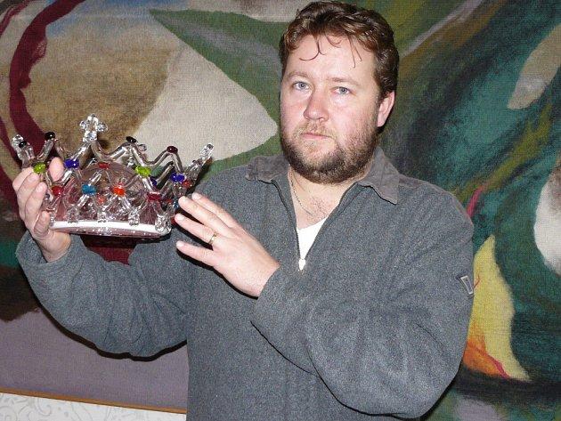 Martin Levý z Radomyšle má doma královskou korunu