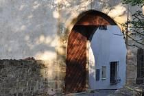 Brána strakonického hradu.