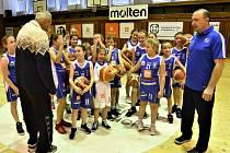 Basketbalem žili ti nejmladší.