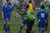 Poříčí vyhrálo potřetí v řadě, Chelčice porazilo 2:0.
