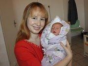 Tereza Matasová, Volyně, 7. 12. 2017, v 7.17 hodin, 2050 g. Malá Tereza je prvorozená.