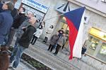 Oslavy 17.listopadu ve Strakonicích.