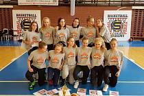 Starší žákyně BK Strakonice skončily čtvrté v republice.