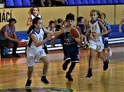 Basketbalové minidívky U11 Strakonic slaví další výhru.