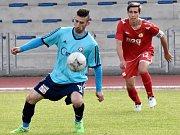 Katovičtí fotbalisté na hřišti Písku B vyhráli nakonec 5:3.