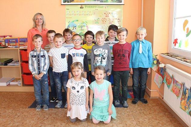 Ve středu 10.ledna představujeme děti zprvní třídy ze ZŠ T. G. Masaryka vSedlici