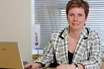 Ředitelka provozu společnosti VaK Jižní Čechy Olga Štíchová.