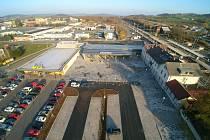 Dopravní terminál Strakonice.