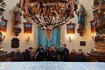 Tříkrálový koncert na Lomci.