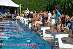 Letní plavecký areál se v sobotu 16. června zaplnil plavci z celé republiky.