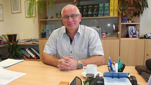 Statutární ředitel akciové společnosti PRIMA Strakonice, Ing. Stanislav Bočánek.