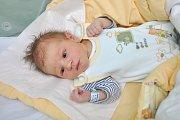 Ondřej Chalupský z Budilova. Ondrášek se narodil 17. prosince 2018 v 8 hodin a 11 minut a při narození vážil 3530 g. Malý Ondra je prvorozený.