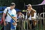 Den ve středověku přišlo na Helfenburk v sobotu 6. července prožít kolem čtyř set lidí.