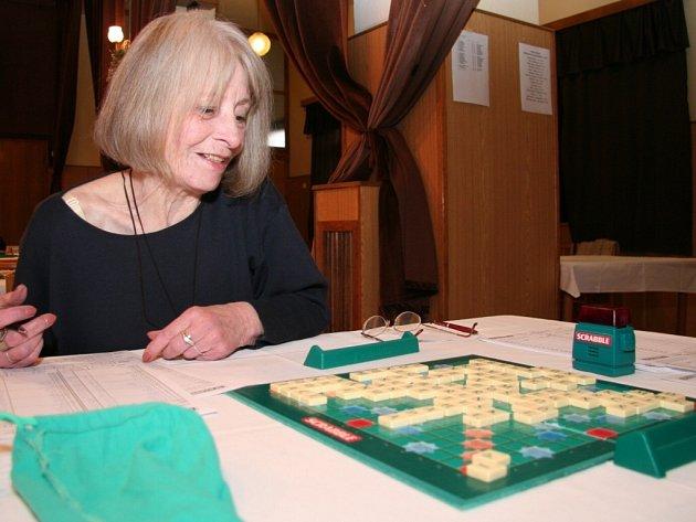 Hra se slovy aneb Scrabble ve Volyni v sobotu 10. listopadu 2007.
