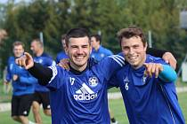 Fotbalisté Katovic odstartovali společnou přípravu