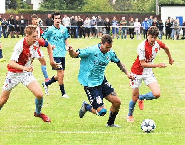 Katovičtí fotbalisté si vpřípravě zopakují loňský duel se Slavií Praha U19.