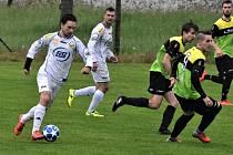 Fotbalový krajský přebor: Milevsko - Osek 4:1.