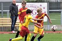 Fotbaloví žáci Junioru porazili Meteor Tábor v obou kategoriích.