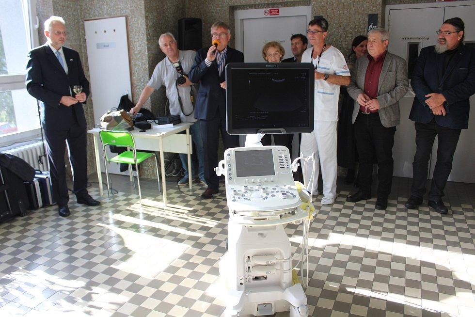 Nový ultrazvuk pro dětské oddělení.