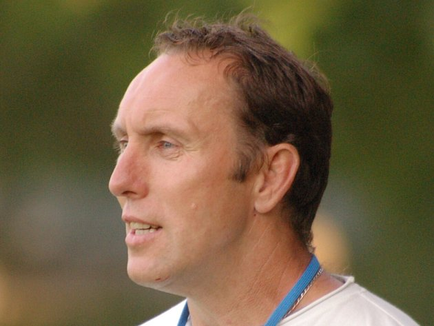 Trenér Stanislav Blažek.