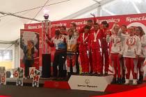Marcela Štajnerová si v Rakousku doběhla pro tři medaile.
