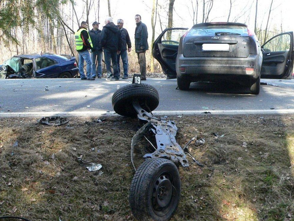 Nehoda u Katovic.