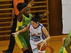 Basketbalistky U19 Chance prohrály se Slovankou 80:85.
