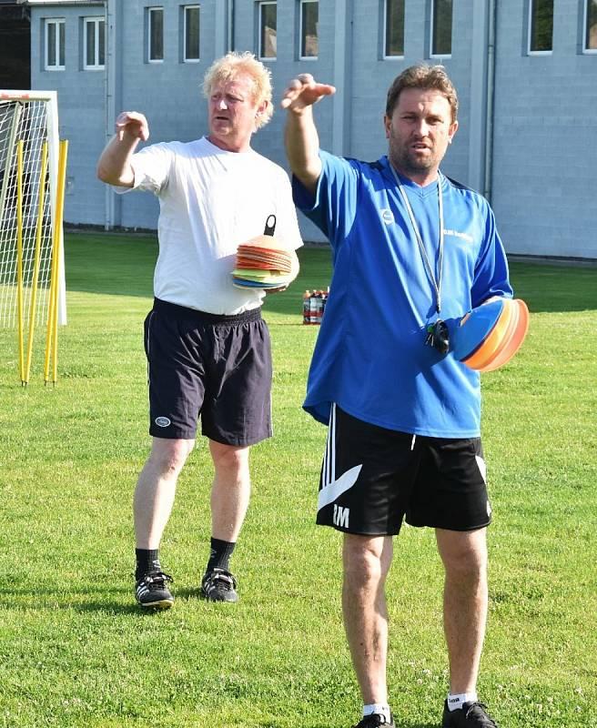 Fotbalisté Oseka jsou na novou sezonu v KP dobře připraveni.
