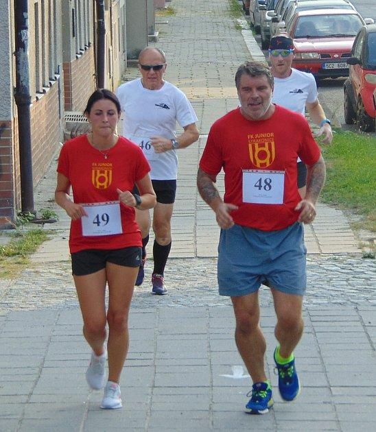 Ohlédnutí za XXIV. ročníkem Běhu městem 21. srpna ve Strakonicích. Ulicemi města běželo 170 závod