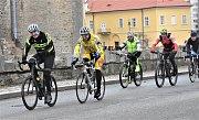 Strakoničtí cyklisté vítali Nový rok vyjížďkou.