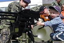 O vojenskou techniku měli největší zájem kluci