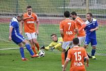 Fotbalová divize: Soběslav - Katovice 6:1.