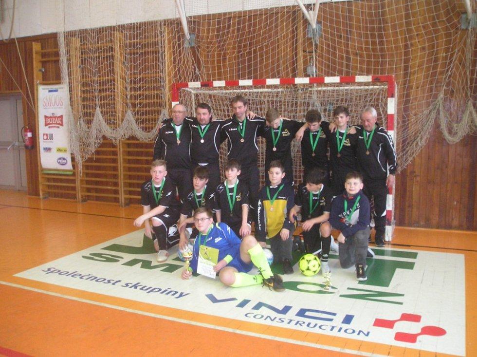 Starší žáci si zahráli o Pohár OFS Strakonice. Foto: Václav Zábranský