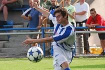 Petr Kotrba vyrovnával ve Vlašimi na 1:1.