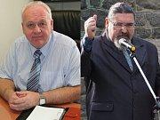 Zleva Vladimír Stroner  a starosta Břetislav Hrdlička.